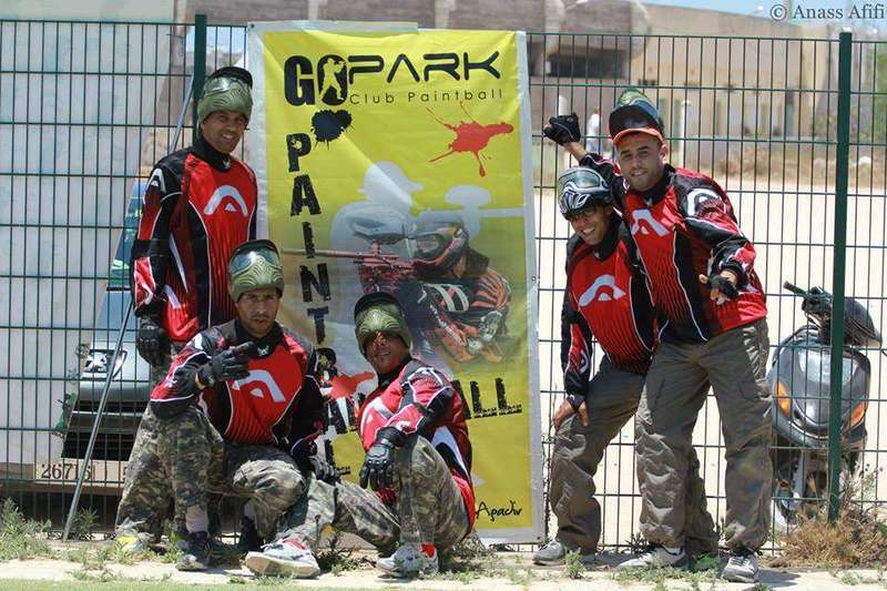 Go-park-paintball