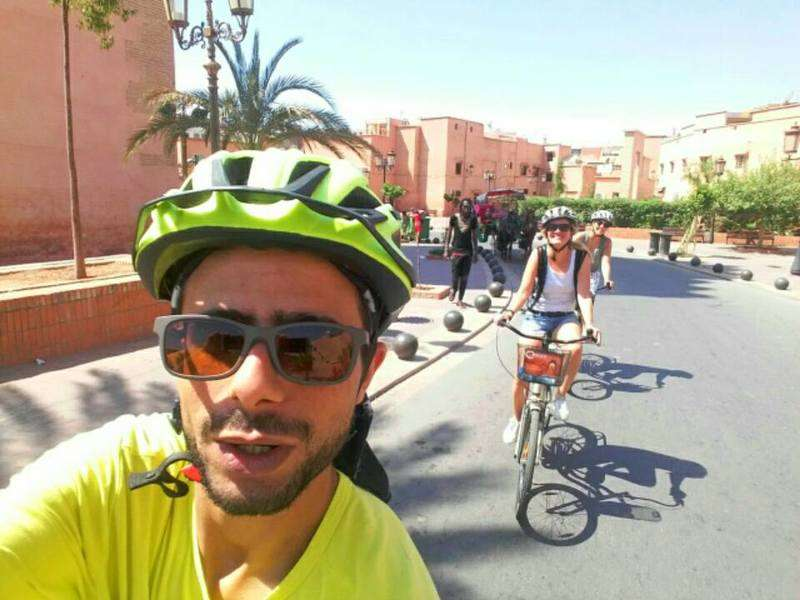 City-bike-tour-Marrakech