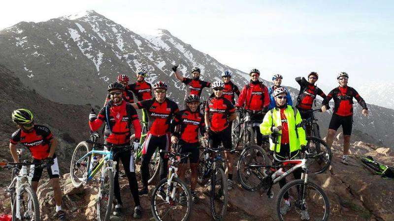 Moroccan-mountain-bikers-Casablanca